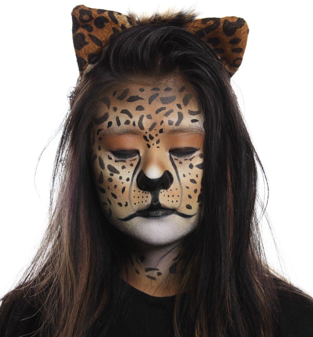 Jaguar Airbrush Face Paint
