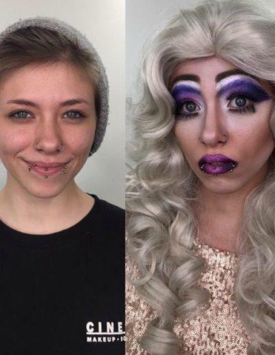 Character Drag Makeup