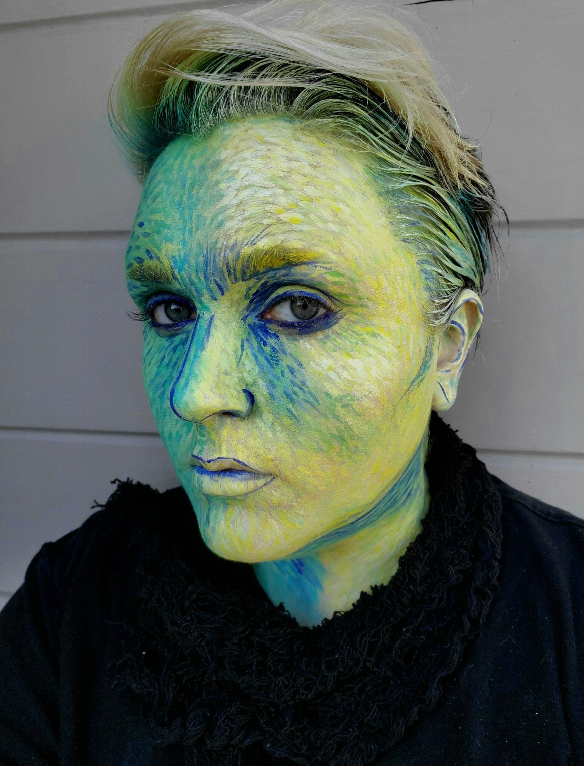 Van Gogh Painting Makeup