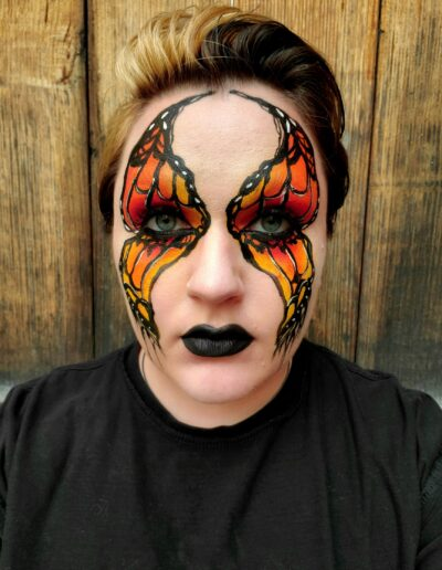 Butterfly makeup 2