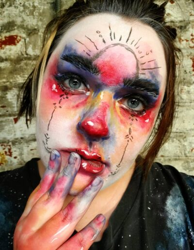 Painting with Makeup